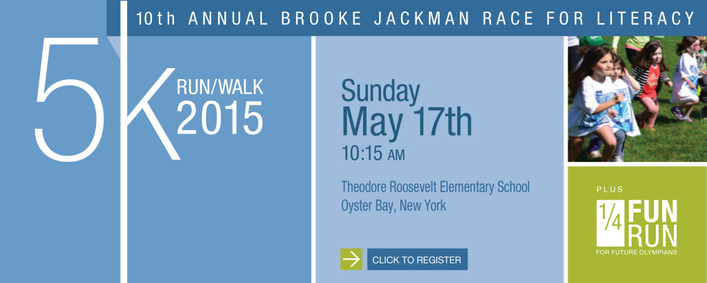 The 10th Annual Brooke Jackman Race for Literacy