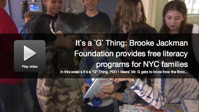 PIX11 News Mr. G. Brooke Jackman Foundation