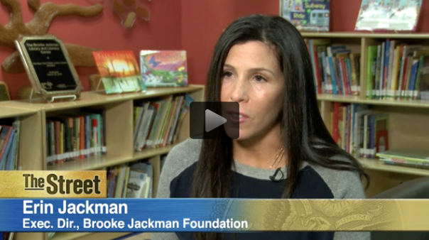 TheStreet Interview with Erin Jackman Executive Director of Brooke Jackman Foundation on Power of Giving