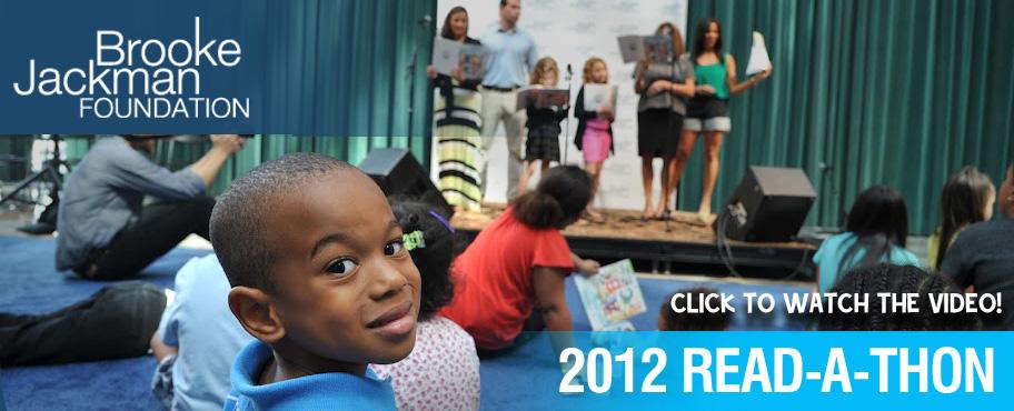 2012 readathon for literacy in NYC
