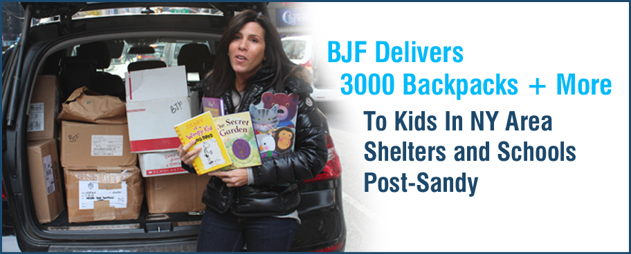 Supporting literacy even after Hurricane Sandy
