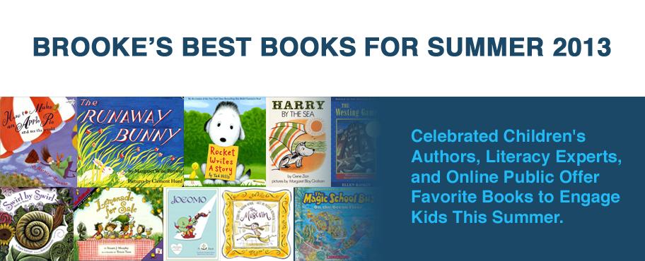 Brooke's Best Books for Summer 2013