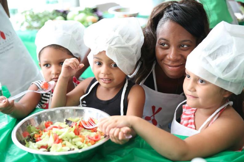Brooke's Cooks for children's nutrition